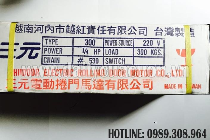Motor cửa cuốn Sanyuan chất lượng