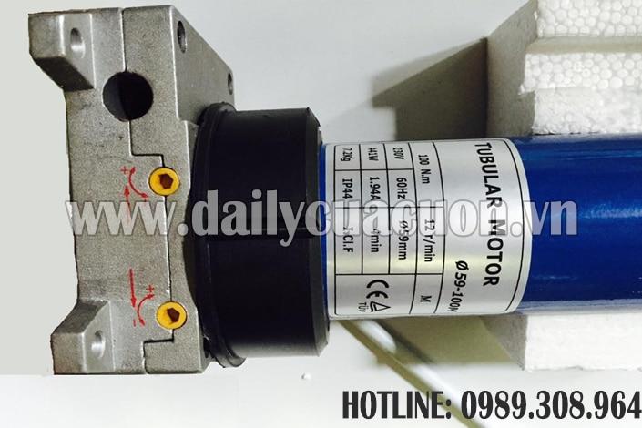 Motor cửa cuốn Tec ống chất lượng 100N