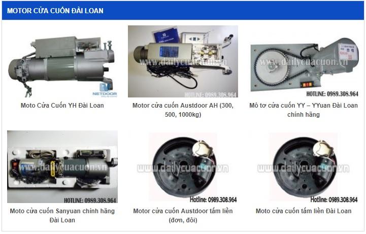 Motor cua cuon Dai Loan