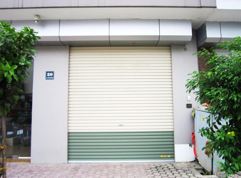 cửa cuốn tấm liền Netdoor Series 2