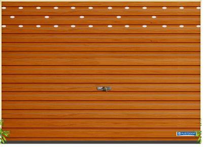 cửa cuốn tấm liền sóng vuông T - DL