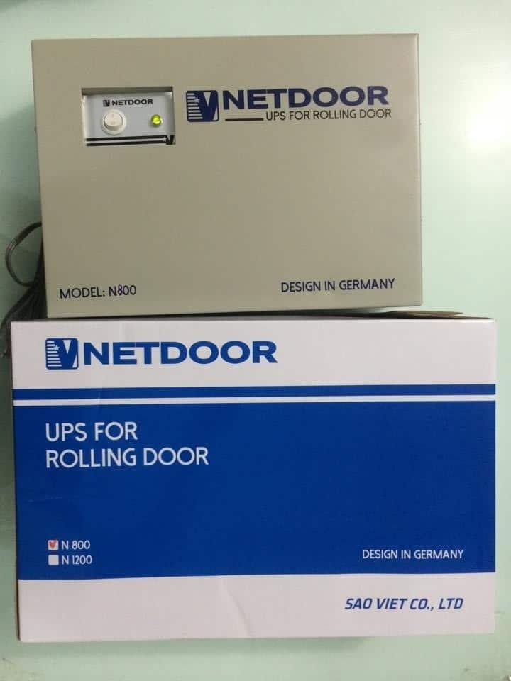 Lưu điện cửa cuốn Netdoor N800 chính hãng