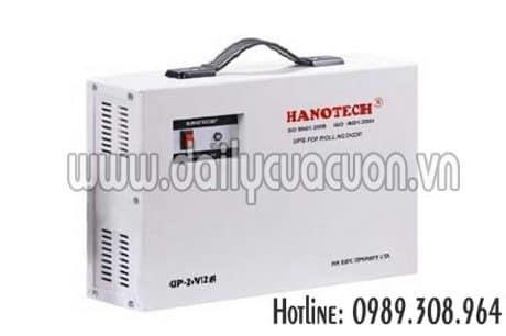 Lưu điện cửa cuốn Hanotech 24V12A