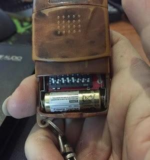 Pin điều khiển cửa cuốn