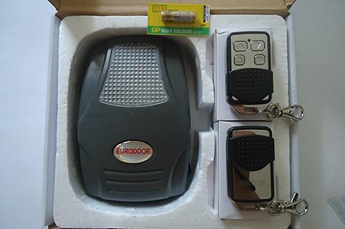 Remote cửa cuốn Eurodoor chính hãng với tem chữ nổi
