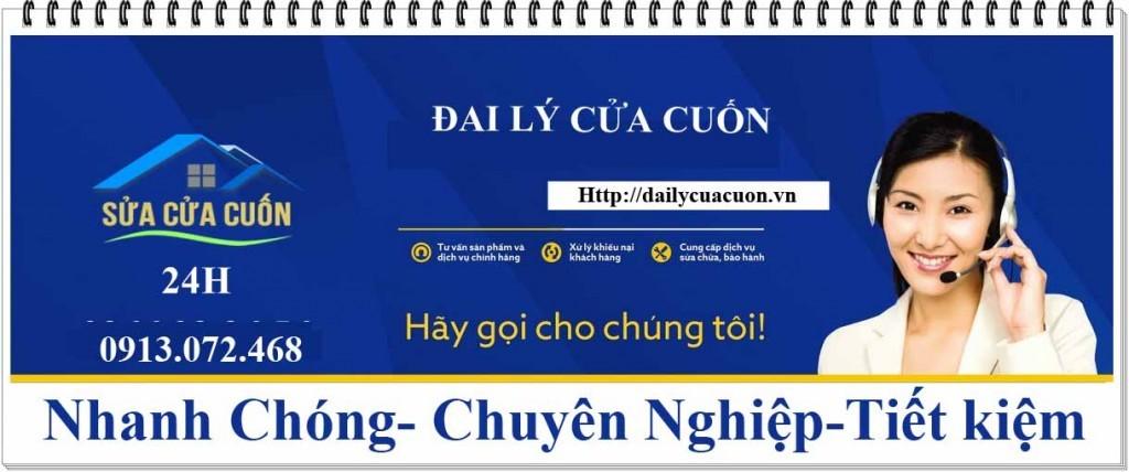 cửa cuốn Đài Loan lá 9 dem thi công bởi Sao Việt