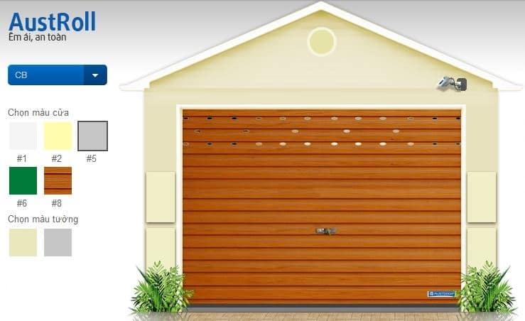 cửa cuốn Austdoor 2