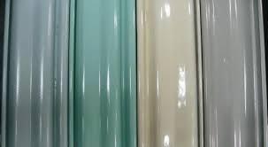 mẫu màu lá cửa cuốn đài loan