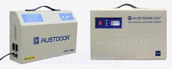 Lưu điện cửa cuốn Austdoor