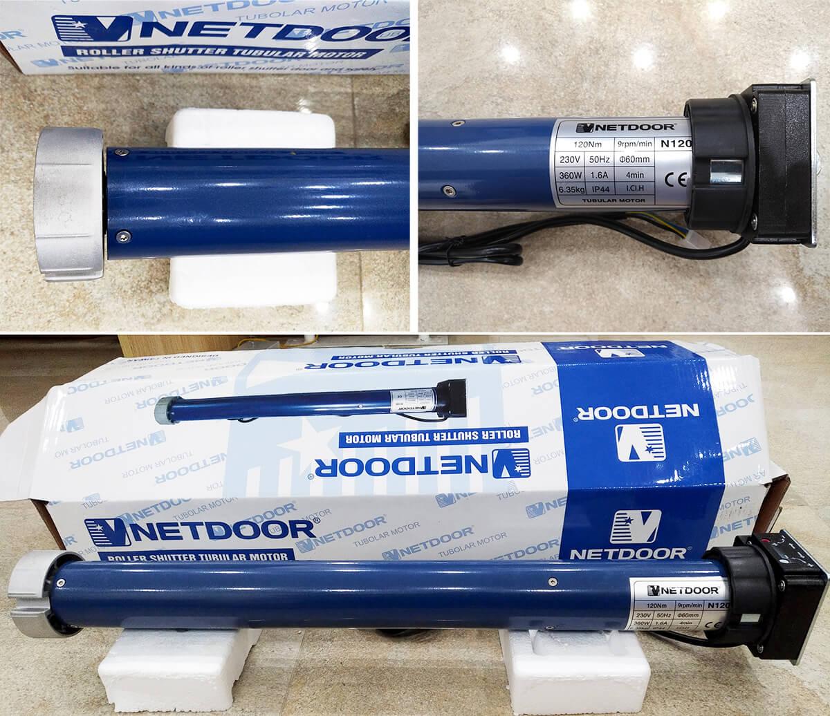 Mô tơ ống Netdoor 120N