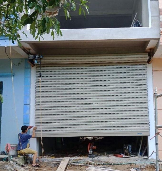 bộ cửa Netdoor NS01 hoàn thành - 1
