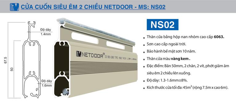 Cấu tạo chi tiết Netdoor NS02