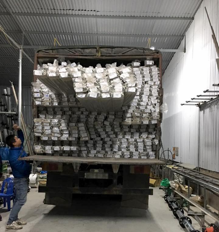 Nguyên liệu nhôm sản xuất cửa cuốn