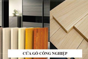 So sánh chất lượng, bảng giá Cửa gỗ công nghiệp và cửa cuốn