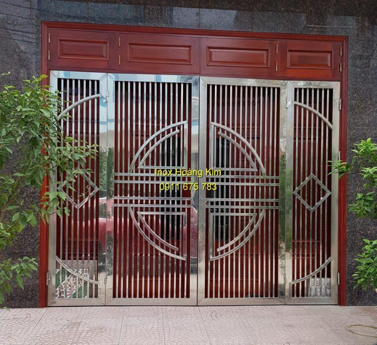 cửa cổng inox đẹp 2