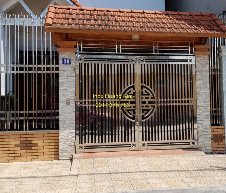 cửa cổng inox đẹp